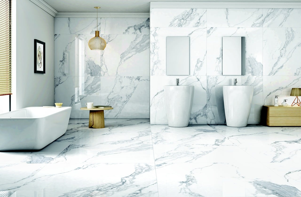 marble bathroom tiles schaumburg